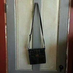 Tignanello Black crossbody bag